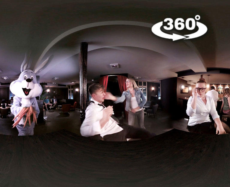 360° video! Best being watched with VR headset or with Phone and Youtube-App.